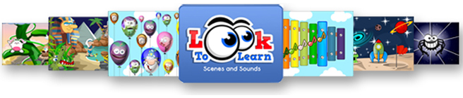 Look to Learn Scenes and Sounds