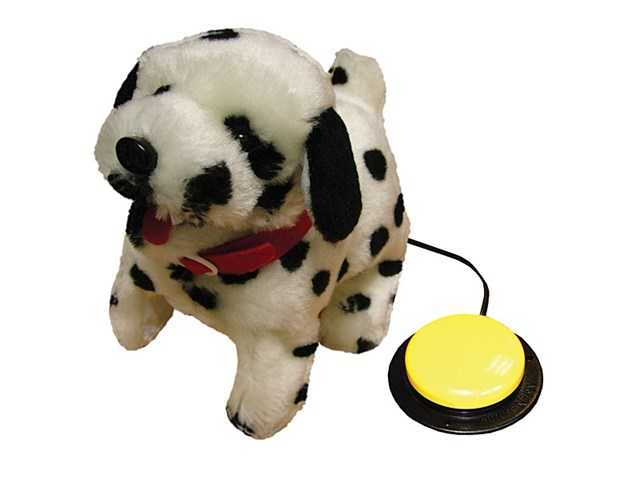 Switch It Up Toys : Switch adapted toy dotty dalmatian inclusive technology