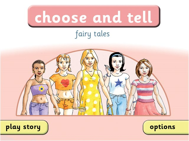 Choose and Tell: Fairy Tales | Inclusive Technology