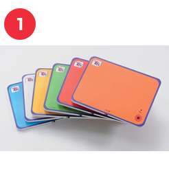Rainbow Talk Time Cards
