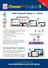 ChooseIt! Maker 3 Flyer