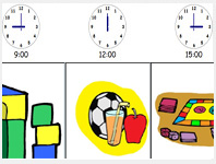 Interactive Visual Timetable