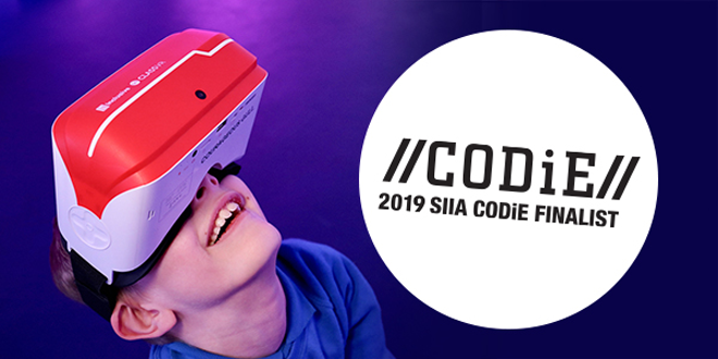 CODiE Awards 2019 Finalist