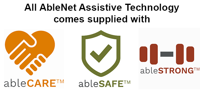 ableCARE, ableSAFE and ableSTRONG